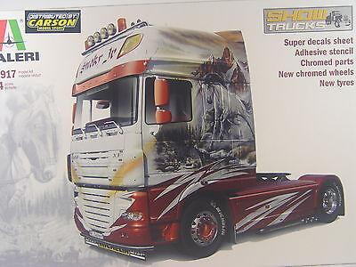 "DAF XF105 Show Truck ""Skmoky Jr."" - Italeri LKW   Bausatz 1:24 - 3917  #E"