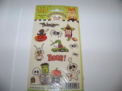 r Sticker Vielseidig Halloween Geister Kürbis Hexe (Glitter Hexe)