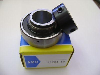 10 Nmd Brand Sa204-12 34 Bore Spherical Insert Bearings With Locking Collar