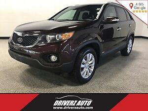 2011 Kia Sorento EX CLEAN CARPROOF, LEATHER, BLUETOOTH