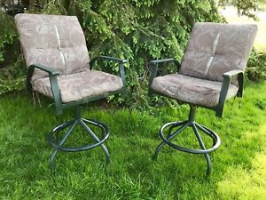 """Bar height patio bar chairs 28"""" high at the seat"""