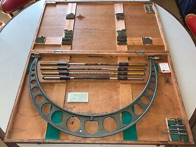 Mitutoyo Model No. 104-155 24-28 Micrometer Used Machinist Lathe Standard