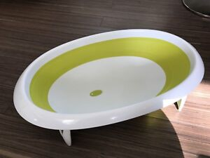 BABY BATH BATHTUB BOON NAKED 2-POSITION COLLAPSIBLE