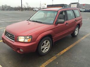2004 Subaru Forester xs for sale