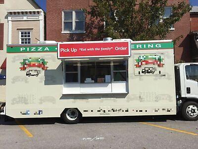 2016 Isuzu Npr Hd Loaded Turnkey Pizza Catering Truck For Sale In Missouri