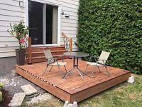 PROMOTION Decks, Fences, gardens, outdoor Oasis