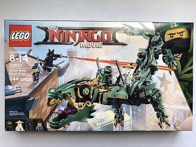 LEGO Ninjago Green Ninja Mech Dragon 70612 - New Sealed