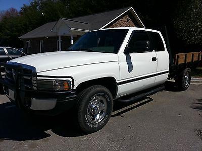 1996 Dodge Ram 2500 12v Cummins 5 9 Diesel Stock 2wd Flatbed