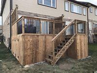 Quality Fences, Custom Decks Booking for October!