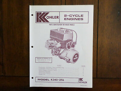 Heavy Equipment Parts & Accessories 7HP 4HP ENGINE OWNERS ...