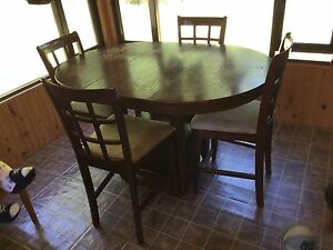 Table and chairs $200