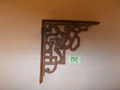 Vintage Cast Iron Toilet Cistern Sink Cherub   Bracket Bathroom Support 727