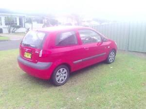 2008 Hyundai Getz Hatchback Barrack Heights Shellharbour Area Preview