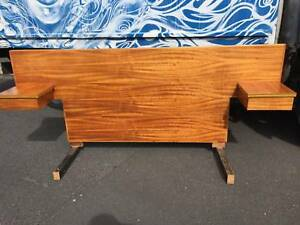bed head,bedside drawers,midcentury bedhead,WE CAN DELIVER Brunswick Moreland Area Preview