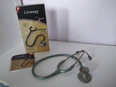 3m Littmann Lightweight Ii S. E. Stethoscope Seafoam Green 2455 Gently Used