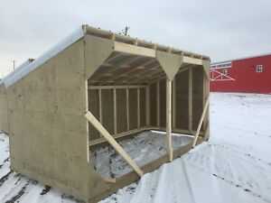 Horse shelters/calf shelters/sheds