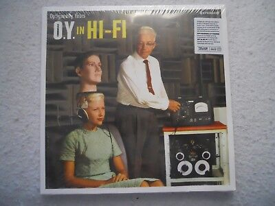 OPTIGANALLY YOURS ~ O.Y. IN HI-FI ~ SEALED LP 2018 ~ LTD ED YELLOW -