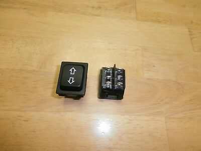 Momentary Updown H.d. Auto Window Dpdt Rocker Switch On-off-on20a 12v1pc