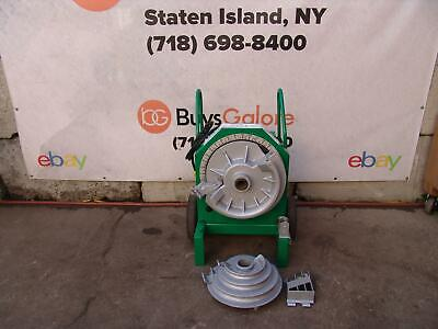 Greenlee 555 Pipe Bender 12 To 2 Inch With Rigid Shoes 1818 855 Works Great