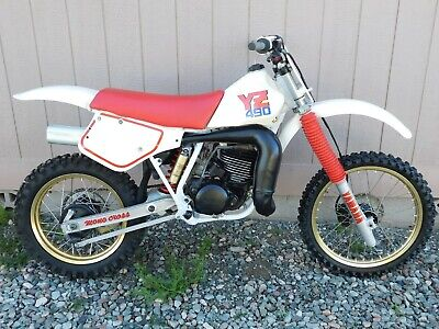 '87 Yamaha YZ490T YZ IT 490 T Vintage MX MotoCross ALL ORIGINAL Restored to NOS