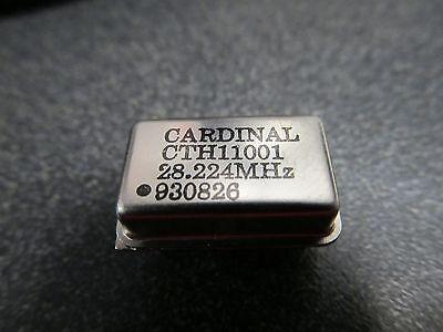 25 Pcs 28.224mhz Crystal Clock Oscillator 10 Meter Qrp Beacon Amateur Radio
