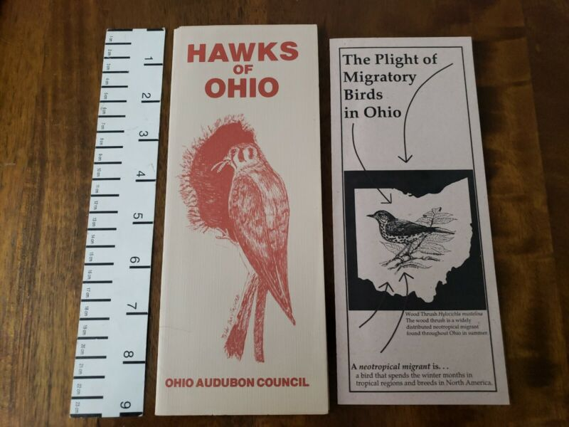 VTG Hawks of Ohio by Audubon Council & Migratory Birds Informational Brochures
