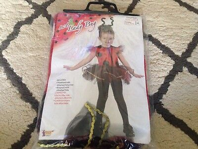 Crazy4tank Lil' Ladybug Toddler Halloween Costume Size 2T-4T - Toddler 2t Halloween Costumes