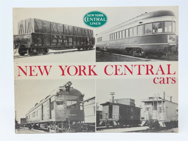 NYC New York Central Cars by Robert J. Wayner SC Book
