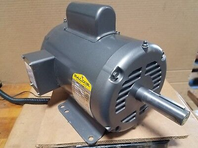 New Baldor 2 Hp Single Phase Motor  Model L1405t