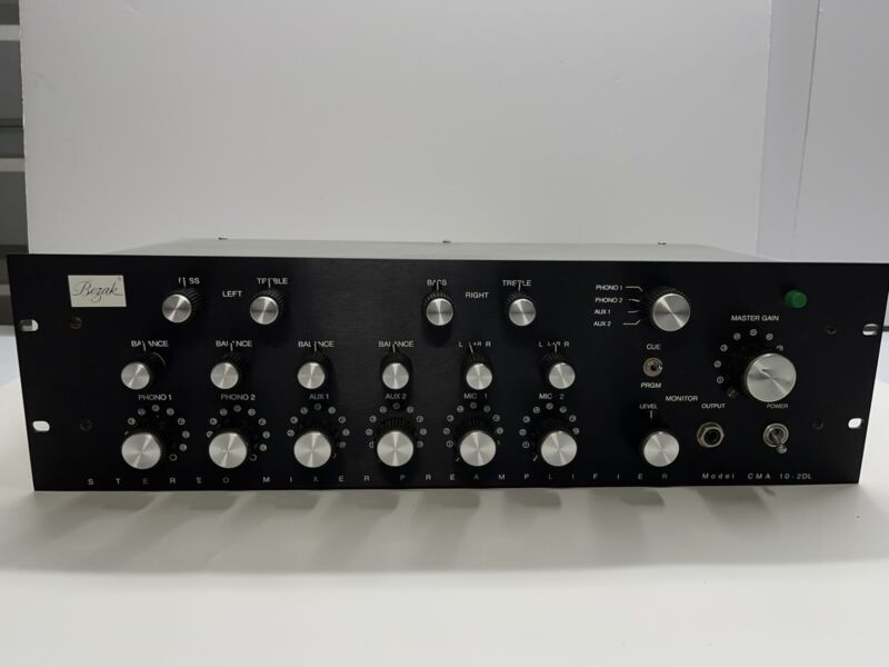 Bozak CMA-10-2DL Rotary Mixer Tested And Working Must See !