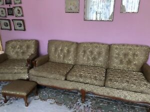 French Provincial Sofa & Chair