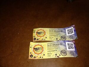 2x Rainbow Serpent Tickets, 600 each Prahran Stonnington Area Preview