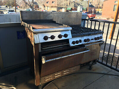 Wolf Challenger Commercial Range - 6 Burners Griddlebroiler And Two Ovens