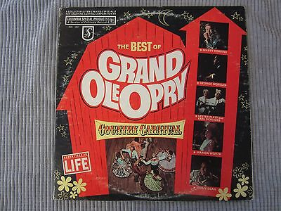 THE BEST OF THE GRAND OLE OPRY ~ COUNTRY CARNIVAL  VINYL RECORD LP