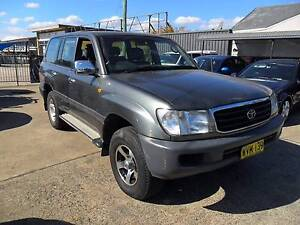 2000 Toyota LandCruiser GXL 100 SERIES AUTOMATIC GREY 4D Wagon Lansvale Liverpool Area Preview
