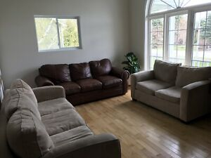 Couches from clean smoke free home
