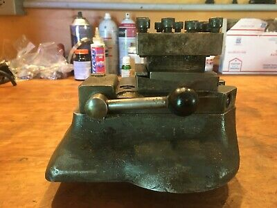 Original South Bend 13 Lathe Four Position Square Turret Tool Block Stc-105t