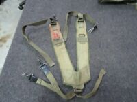 M48 OPS GI STYLE SUSPENDER BLACK GI Type Y Style LC-1 Suspenders NEW