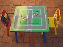 LEGO TABLE PLUS TWO CHAIRS-  WOODEN Enfield Port Adelaide Area Preview