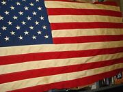 Vintage American Flag Cotton