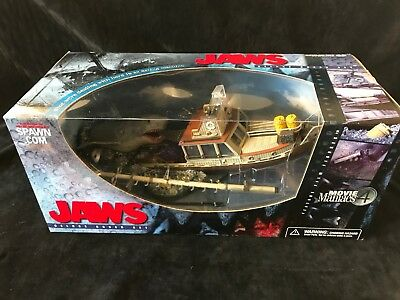 Jaws Deluxe Boxed Set Mcfarlane Toys Movie Maniacs 4