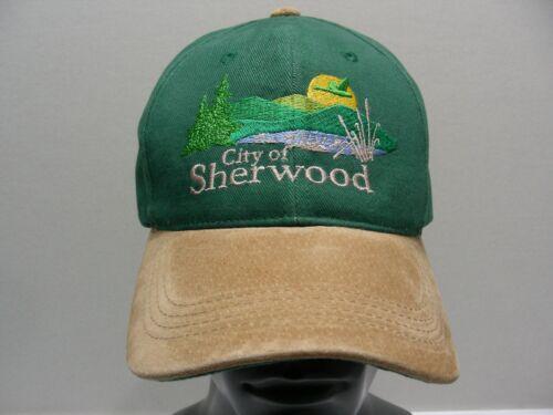 CITY OF SHERWOOD (OREGON) - ADJUSTABLE STRAPBACK BALL CAP HAT!