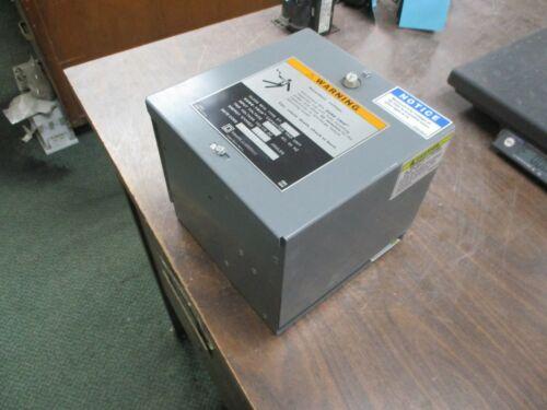 Square D Sure-Trip Capacitor Trip Unit ST-540 Input:120VAC 60Hz Trip:155-170VDC