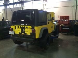 2002 Jeep Tj v6 4.0L Manual