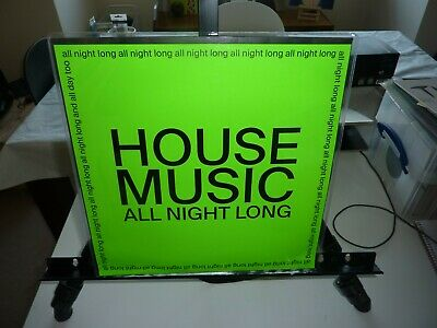 "JARV IS... - HOUSE MUSIC ALL NIGHT LONG LTD 12"" (GREEN SLEEVE) MINT/BRAND NEW"