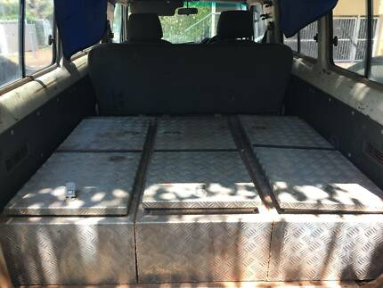 Rear storage chests - suit Toyota Landcruiser Troopy Troopcarrier Rapid Creek Darwin City Preview