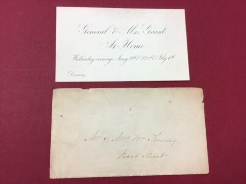 General Ulysses S. Grant & Mrs. Grant At Home Dancing Invitation