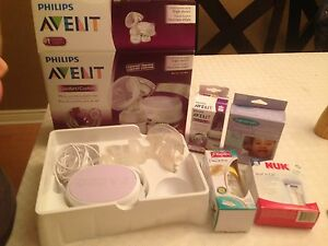 Avent Single Breast Pump and New accessories