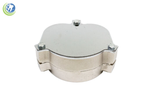 Dental aluminum flask for laboratory spring press compress and denture prepare