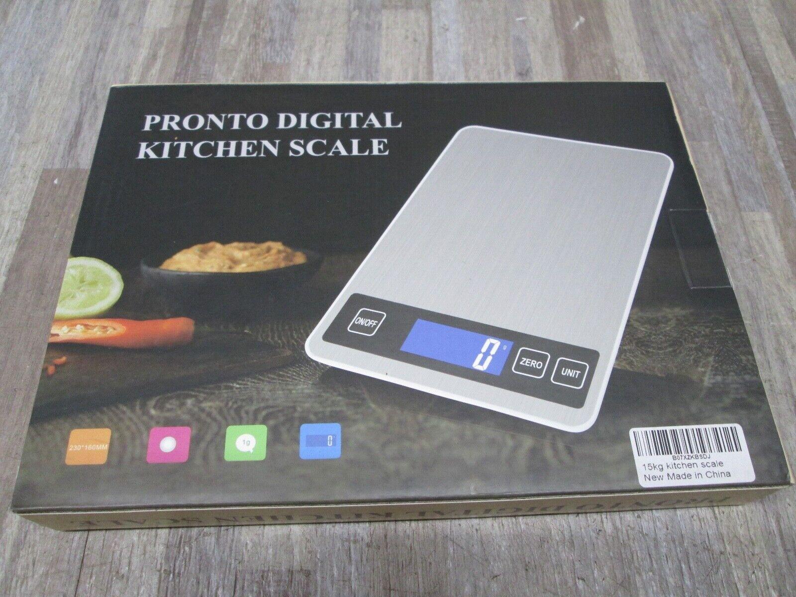 15kg lcd digital kitchen scale big food